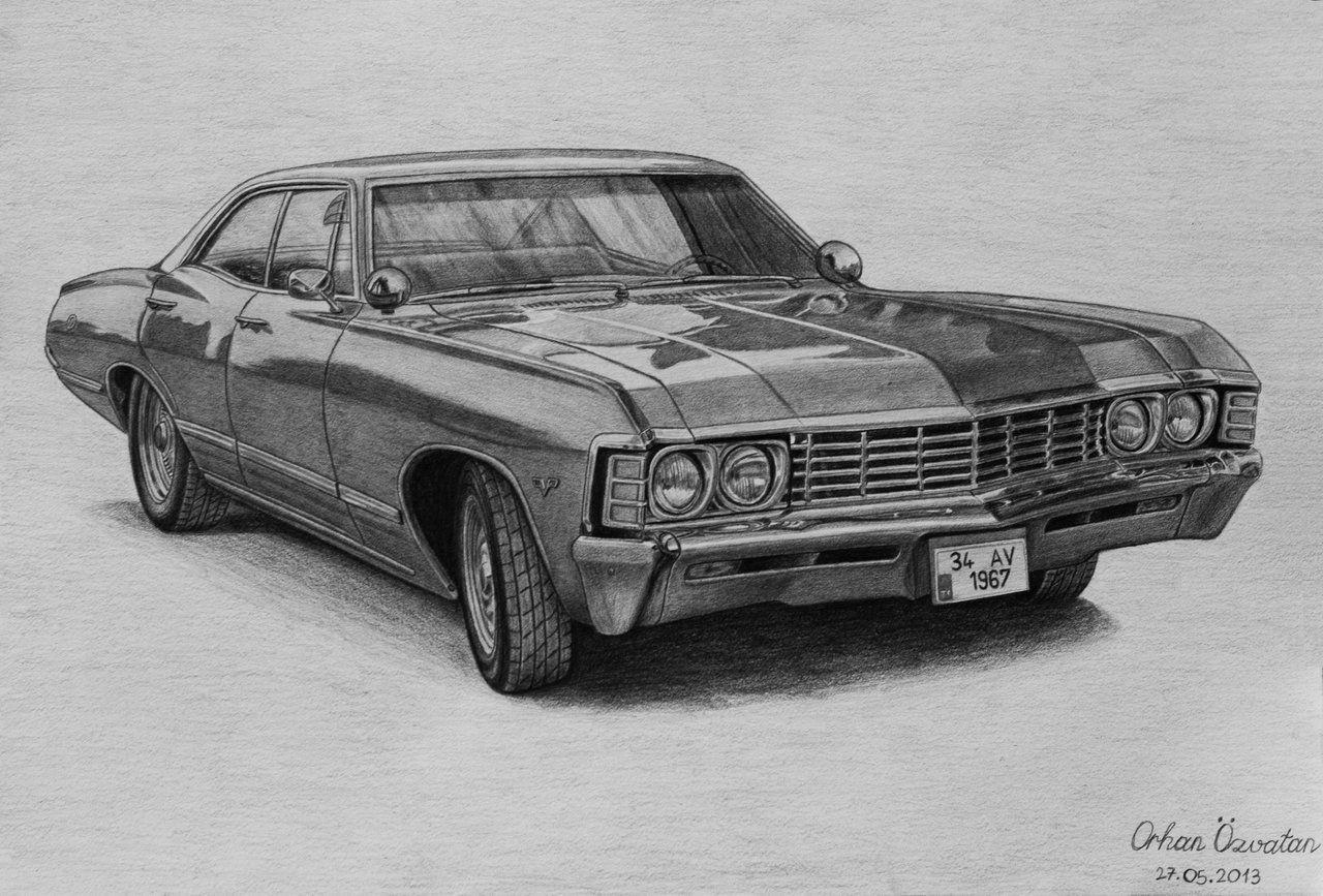 Supernatural Serie Televisee Wikipedia Des Voitures De Reve Chevrolet Impala Chevy