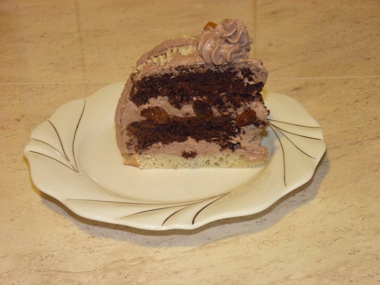 Nie ma jak u mamy... www.przepismamy.pl: Ciasto czekoladowe z masą rumową | Pomysły na dania ...