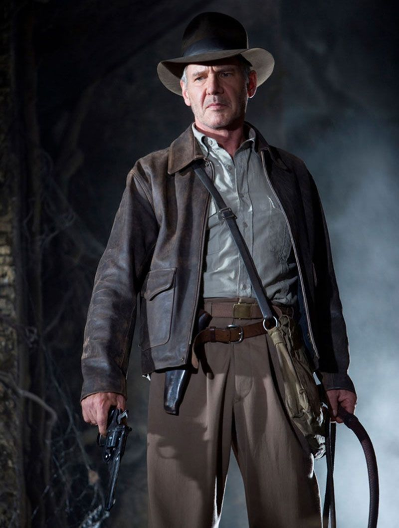 Harrison Ford In Indiana Jones And The Kingdom Of The Crystal Skull 2008 Oohh Yeah Harrison Ford Indiana Jones Movies Costumes