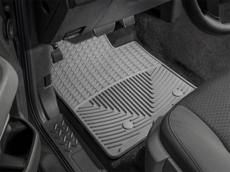 Weathertech 09 Ford F 150 Front Rubber Mats Grey Vweosinterior