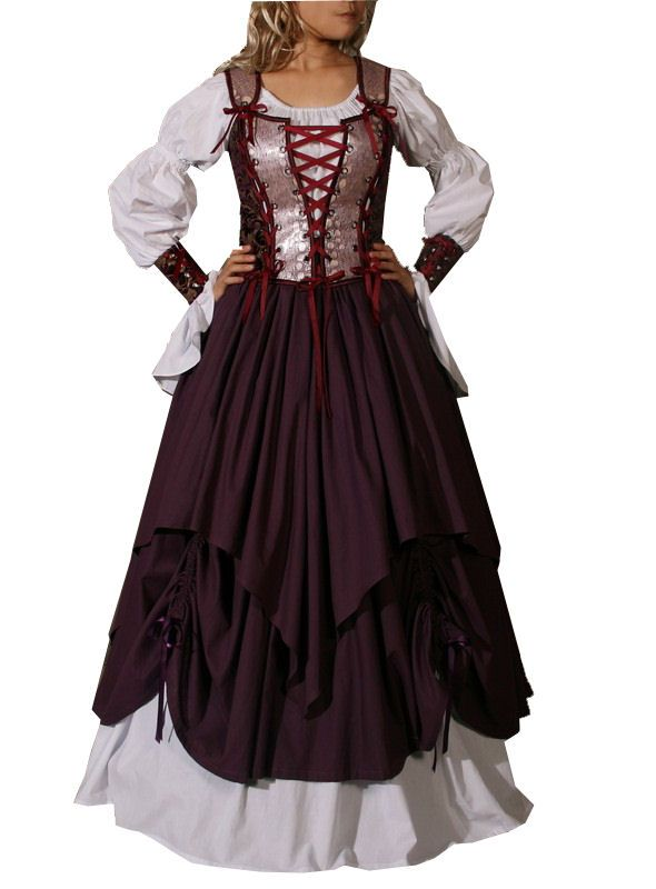Old Fashioned Posh English Clothes Design Anime