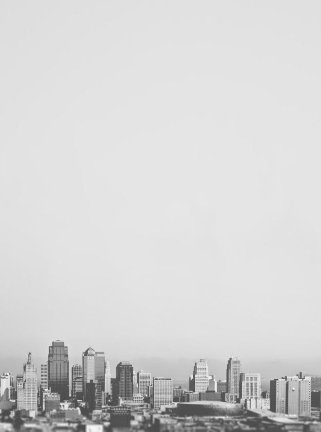 Skyline 1 Grey Minimalist Wallpaper Gray Aesthetic White Aesthetic