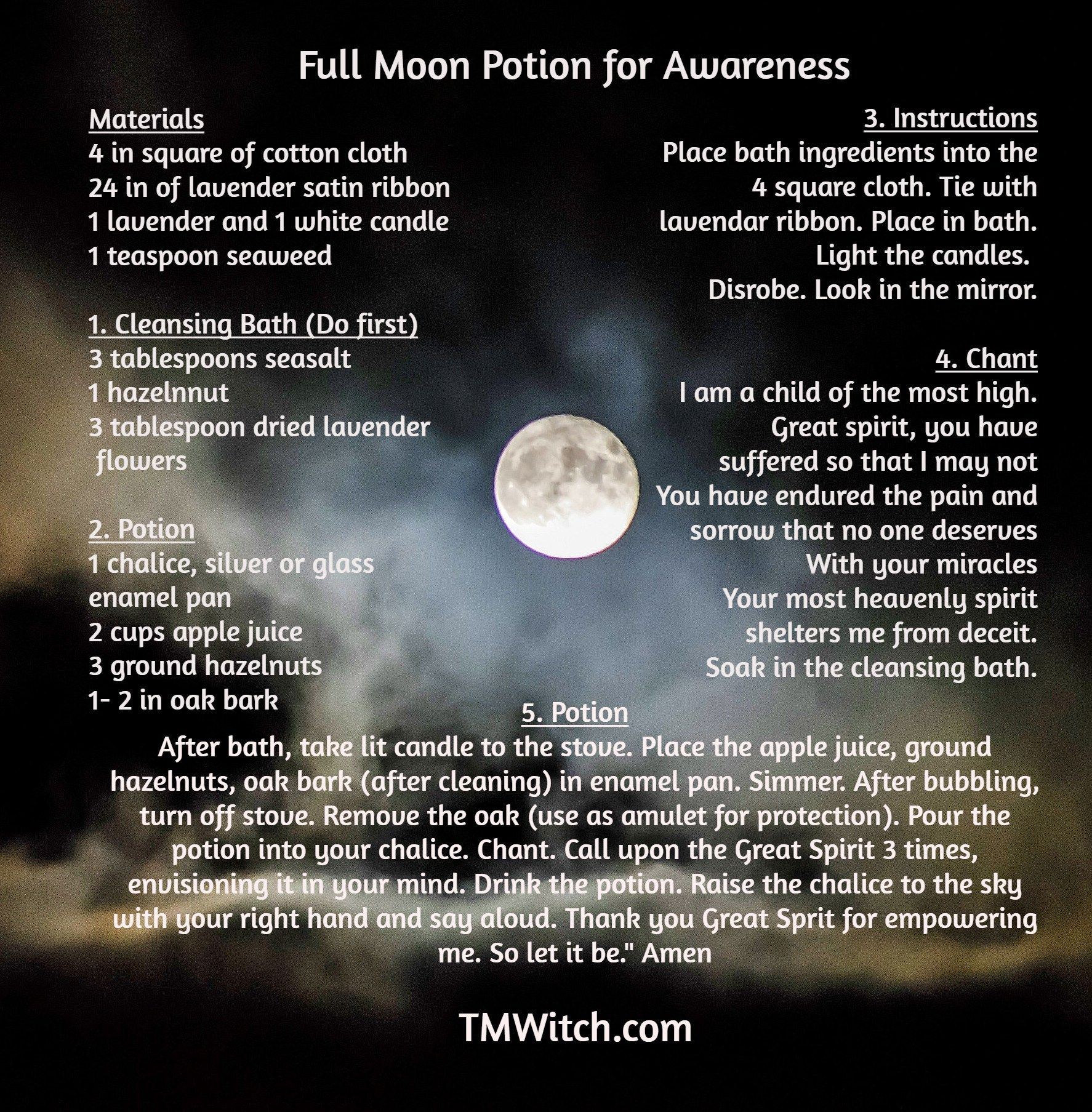 On May 18th There Will Be A Full Moon Use This Ritual To