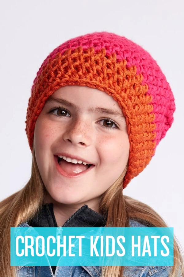 Photo of Crochet Kids Hats – free patterns