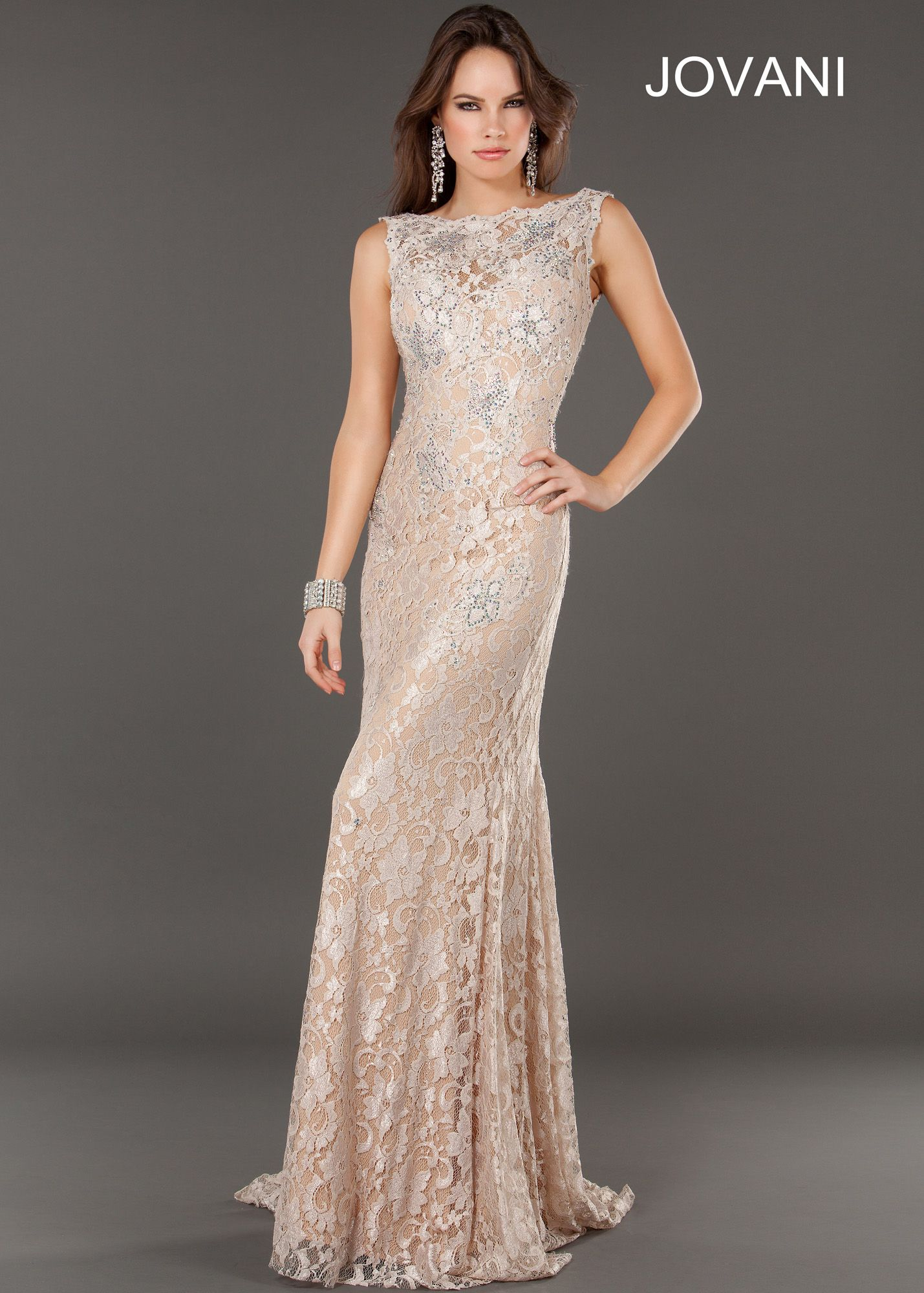New prom dress jovani sexy lace prom dresses available