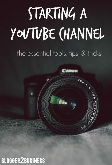 Want To Start A YouTube Channel? Learn The Essentials From