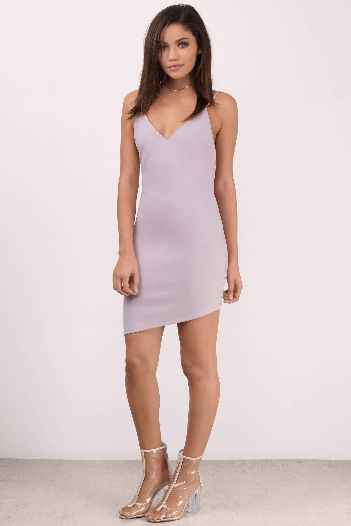 Frances Low Back Mini Bodycon Dress In Mauve Bodycon Cocktail Dress Womens Trendy Dresses Bodycon Dress [ 1800 x 1200 Pixel ]