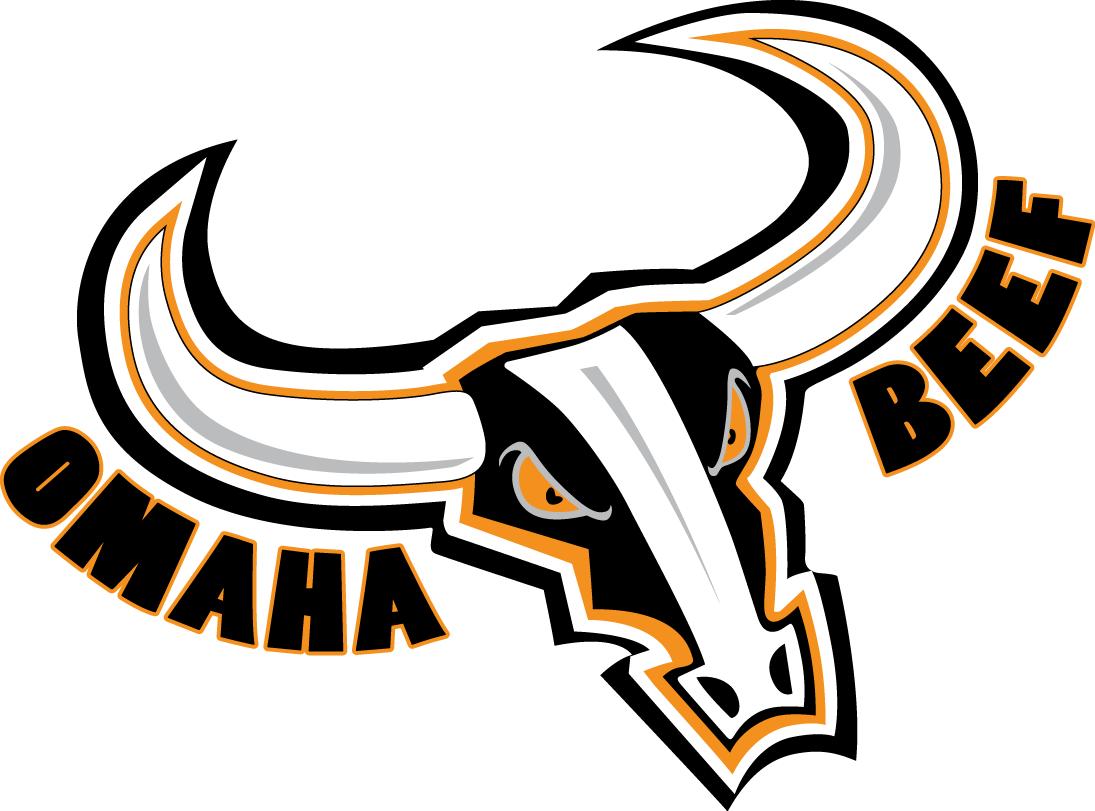 Omaha Beef Primary Logo (2009) Football logo, Arena