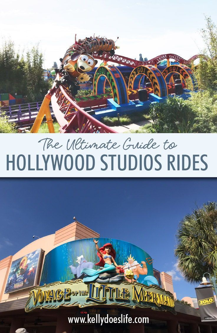 Complete Guide to Hollywood Studios Rides Disney world