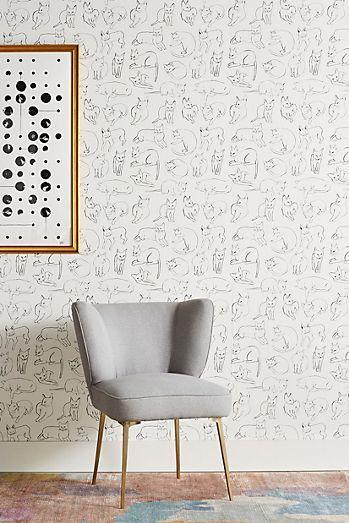 Octopus Wallpaper Quirky home decor, Contemporary home