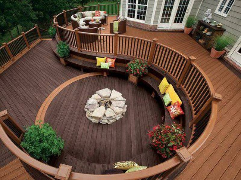 On A Scale Of 48 To 480 480 Being The Highest How Would You Rate This Beauteous Backyard Deck Design Ideas Collection