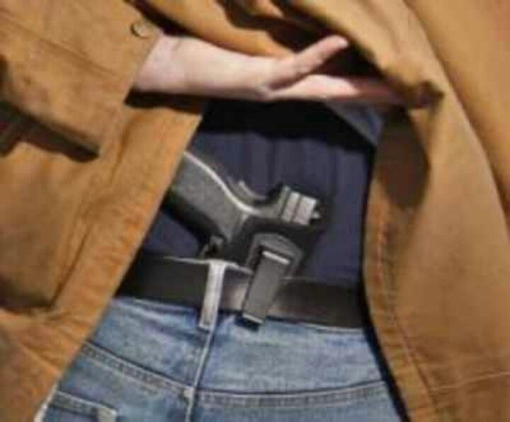 Pin on concealed to carry