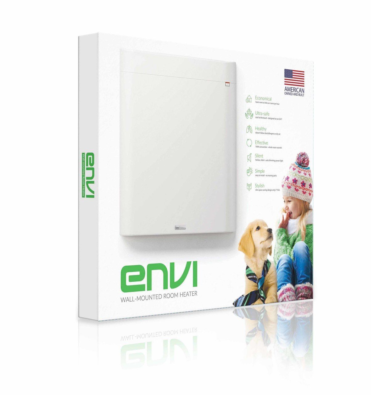 Envi High Efficiency Whole Room 120v Plug In Electric Panel Wall Heater 2nd Generation Hh3012t Heater Electric Heating Efficiency