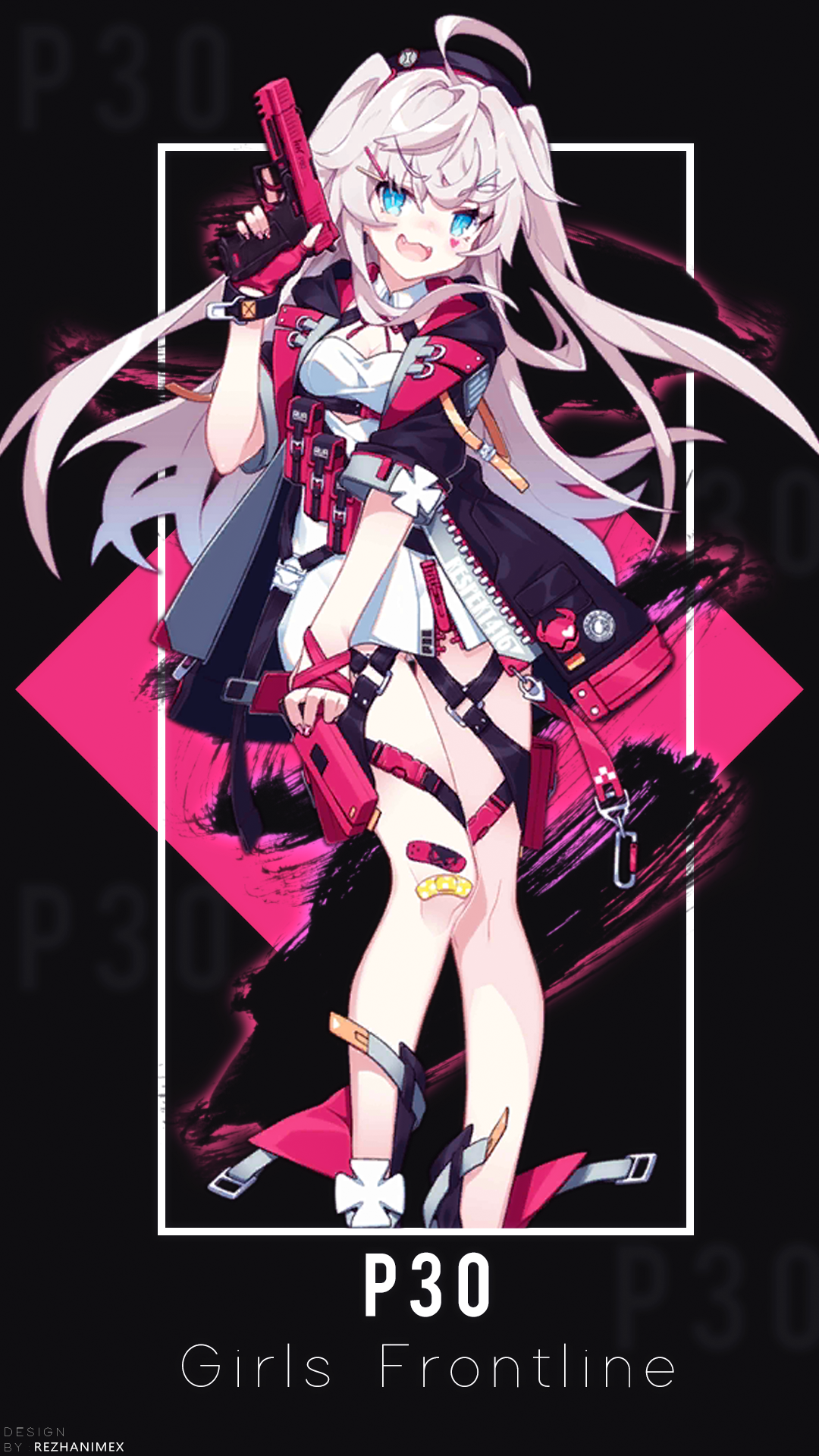 P30 Wallpaper Android ( Girls Frontline ) by