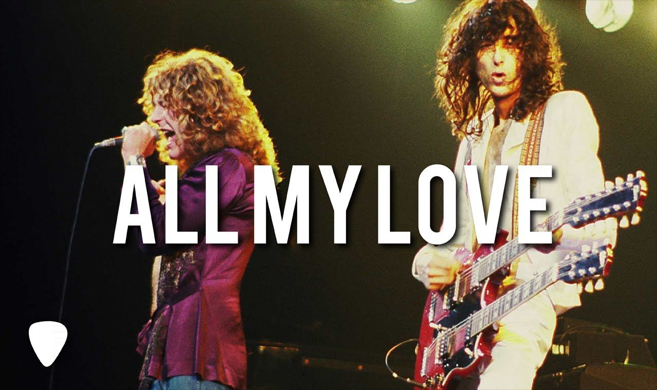 Led Zeppelin All My Love Planeta Rock Robert Wrote This Song
