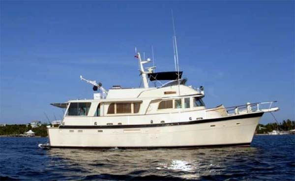 Peytona II is a classic 58' Hatteras LRC in very good