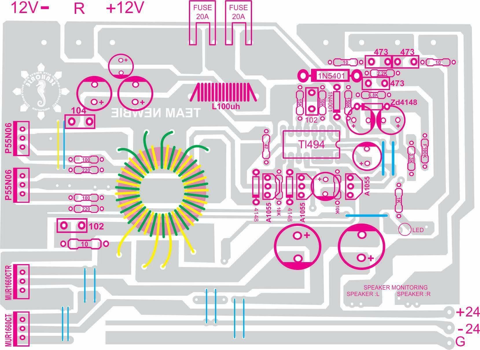 Smps 12 Volt Dc To Inverter G 12volt Pinterest Additionally Camera Taser Schematics Further Stun Gun Circuit Diagram