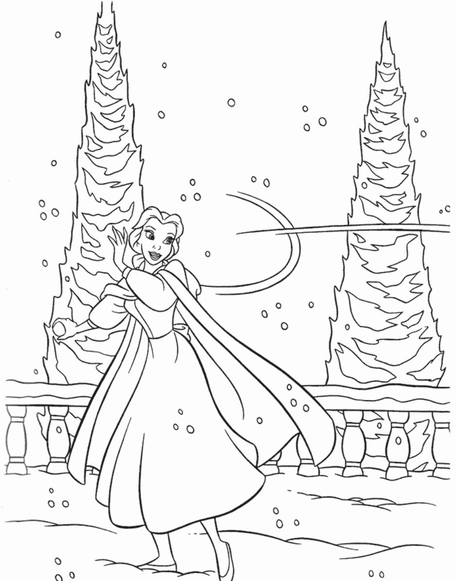 Disney Winter Coloring Pages In 2020 Princess Coloring Pages Disney Princess Coloring Pages Disney Coloring Pages