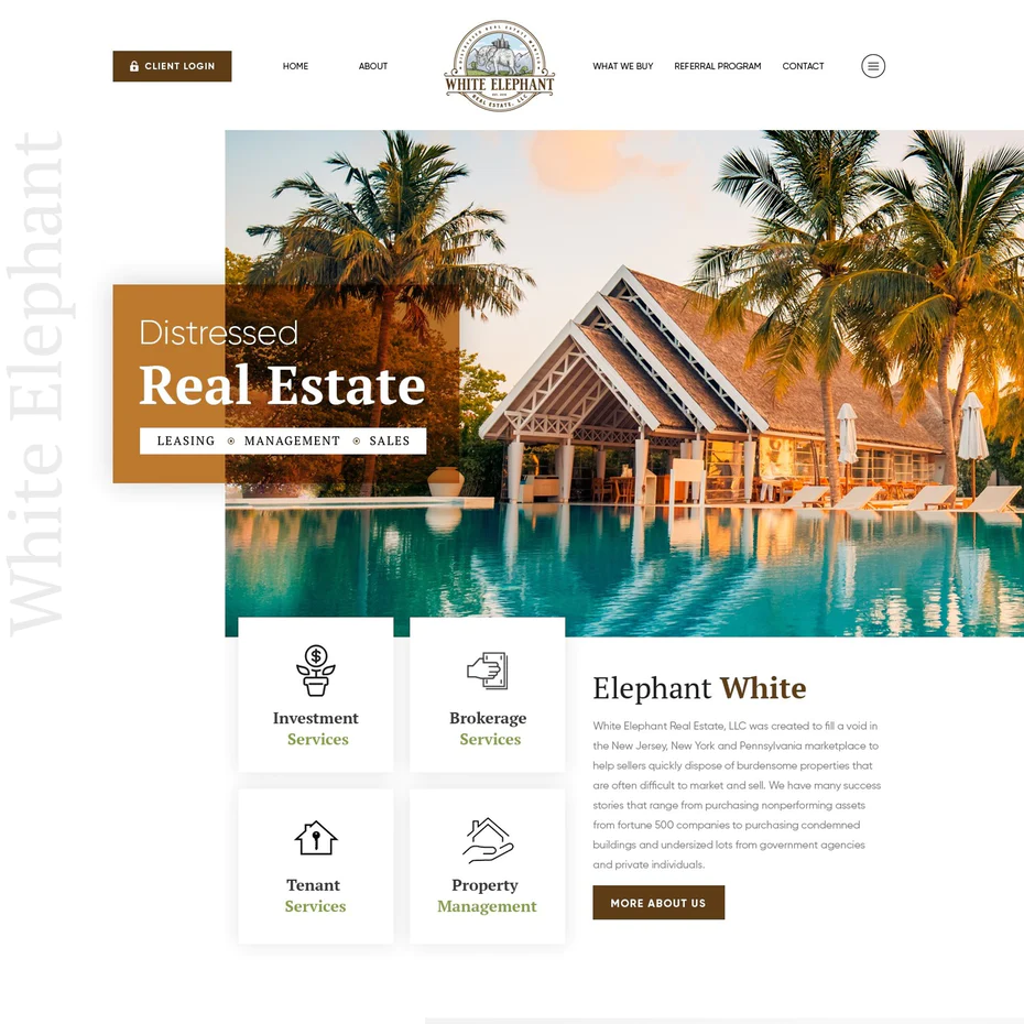 28 Best Real Estate Website Designs That Make You Feel At Home 99designs Real Estate Website Design Real Estate Web Design Real Estate Website Templates
