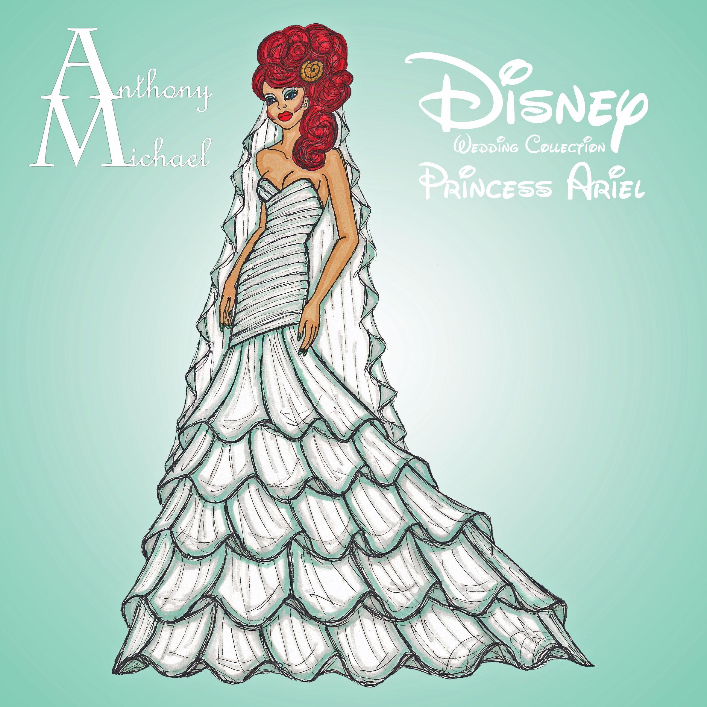 Ariel, Wedding Dress | Disney Movies & Characters | Pinterest ...
