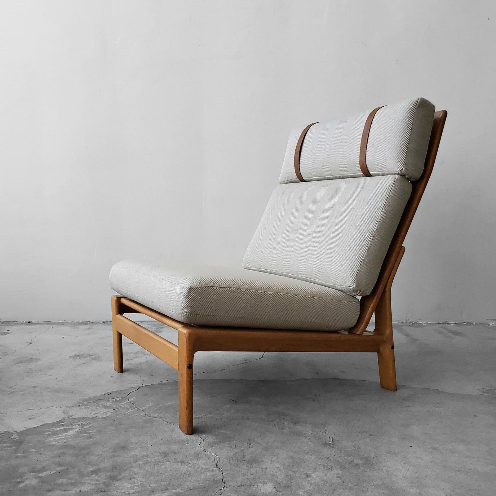 Mid Century Danish Oak Lounge Chair By Komfort Design In 2020