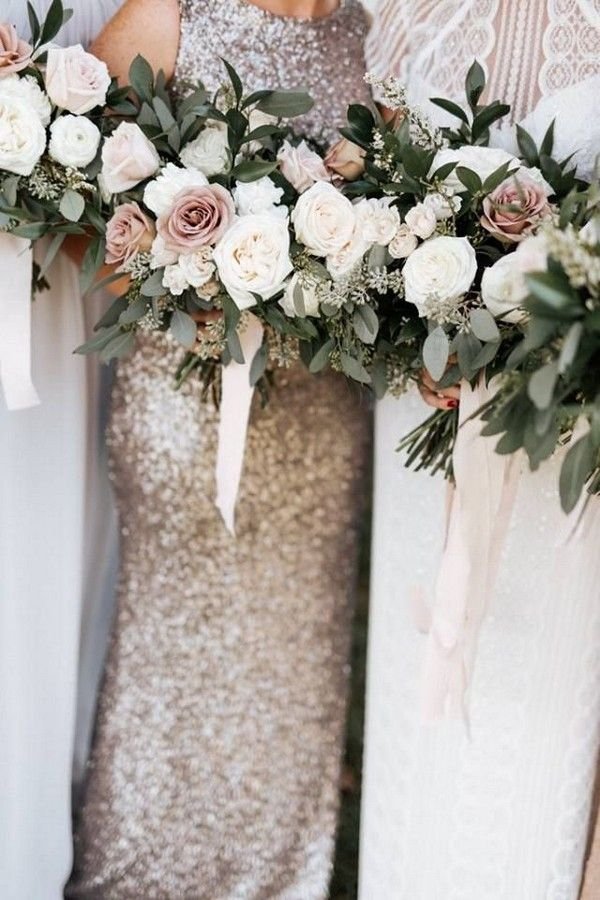 30 Chic Neutral Fall Wedding Color Ideas #bridesmaidbouquets