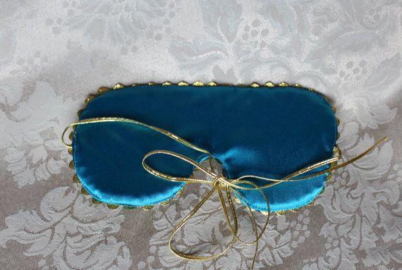 Holly Golightly Auge Schlafmaske Satin Frühstück von EVESAdesign