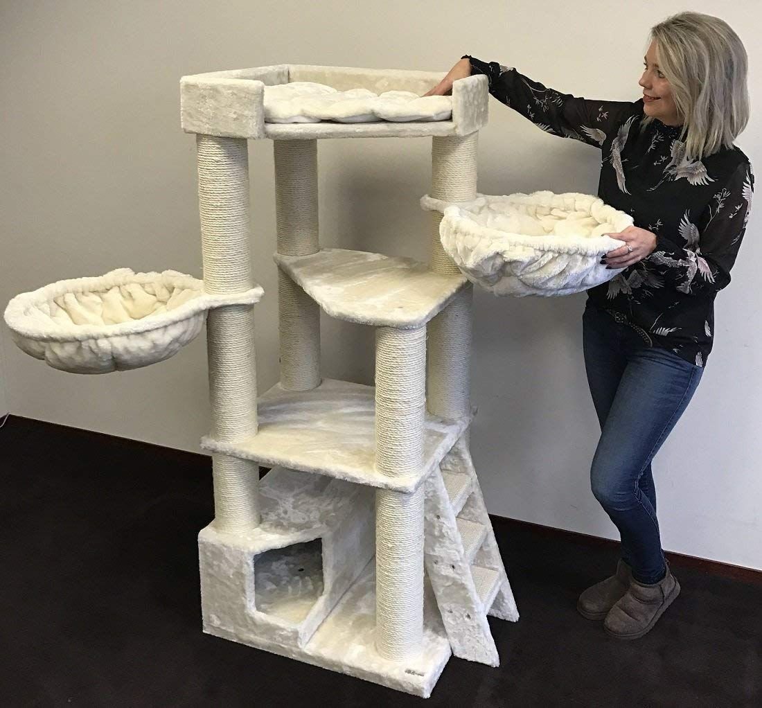 Top 5 Best Cat Trees For Large Cats With Reviews Cool Cat Trees Cat Tree Cat Tree Plans