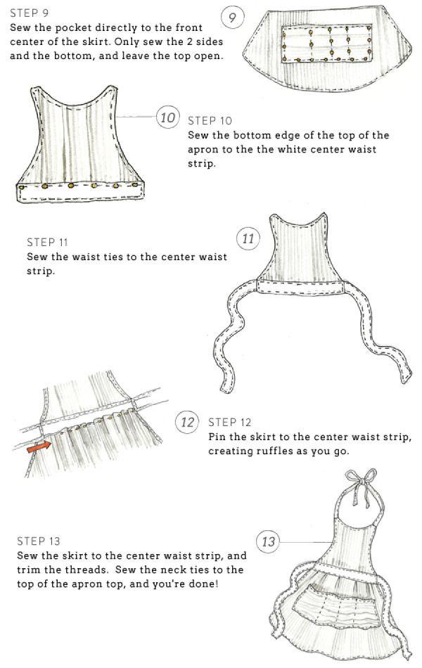 diy apron | sewing | Pinterest | Costura, Mandil y Patrones