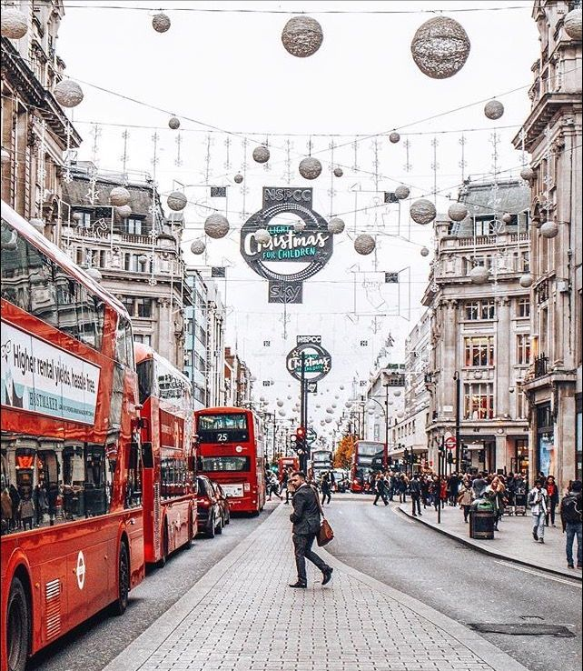 Christmas Places To Visit In London: England П��