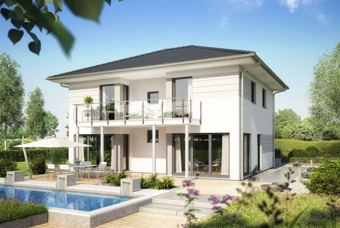 Design Haus Modern Satteldach