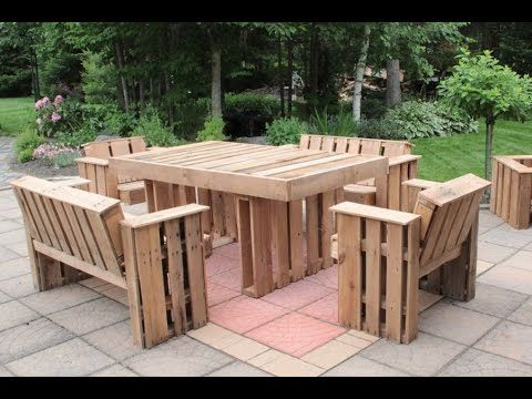 Fabriquer du mobilier de palettes | Cours en ligne avec Denis ...