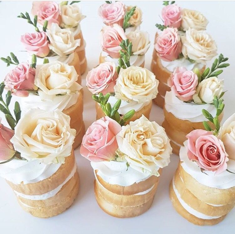 Mini Naked Cakes Marry Me Pinterest Naked Cake And