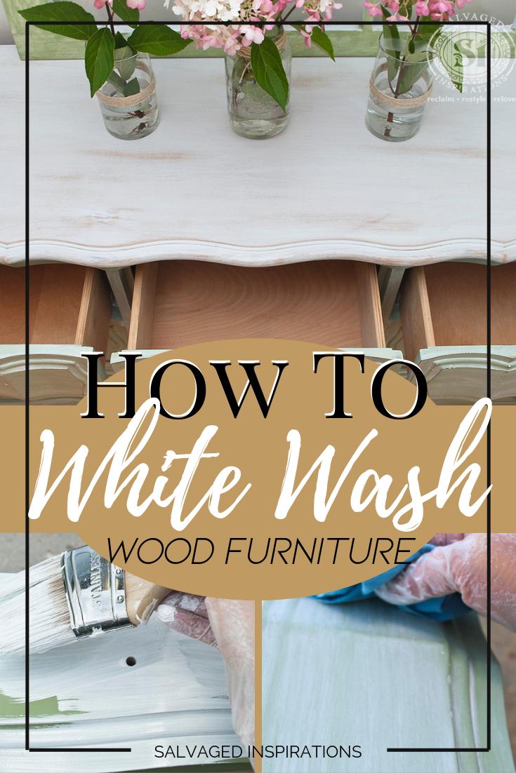 Wie man Holzmöbel weiß wäscht  Wie man Holzmöbel weiß wäscht   Eine einfache Schritt-für-Schritt-Anleitung von Denise   Geborg #Holzmöbel #Man #wäscht #Weiß #Wie