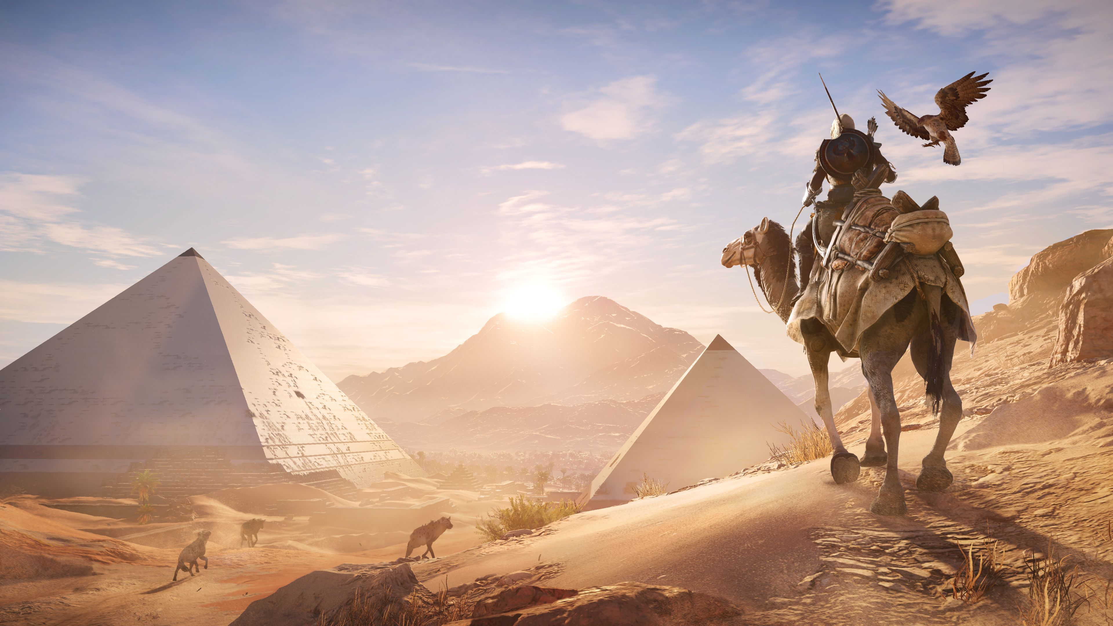 Assassin S Creed Origins 20 Minutes Of 4k Xbox One X Gameplay