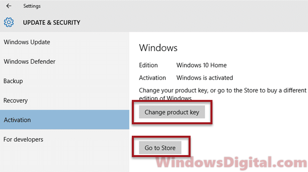 change windows 10 version from home to pro