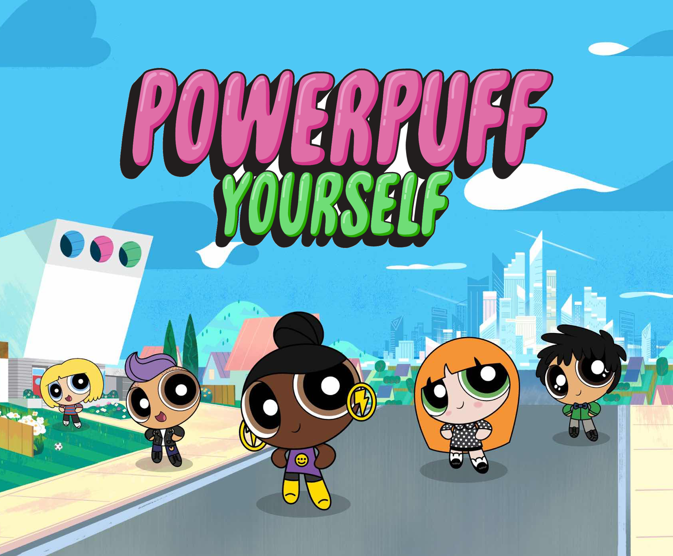 Powerpuff Yourself Such An Amazing Way Of Creeating