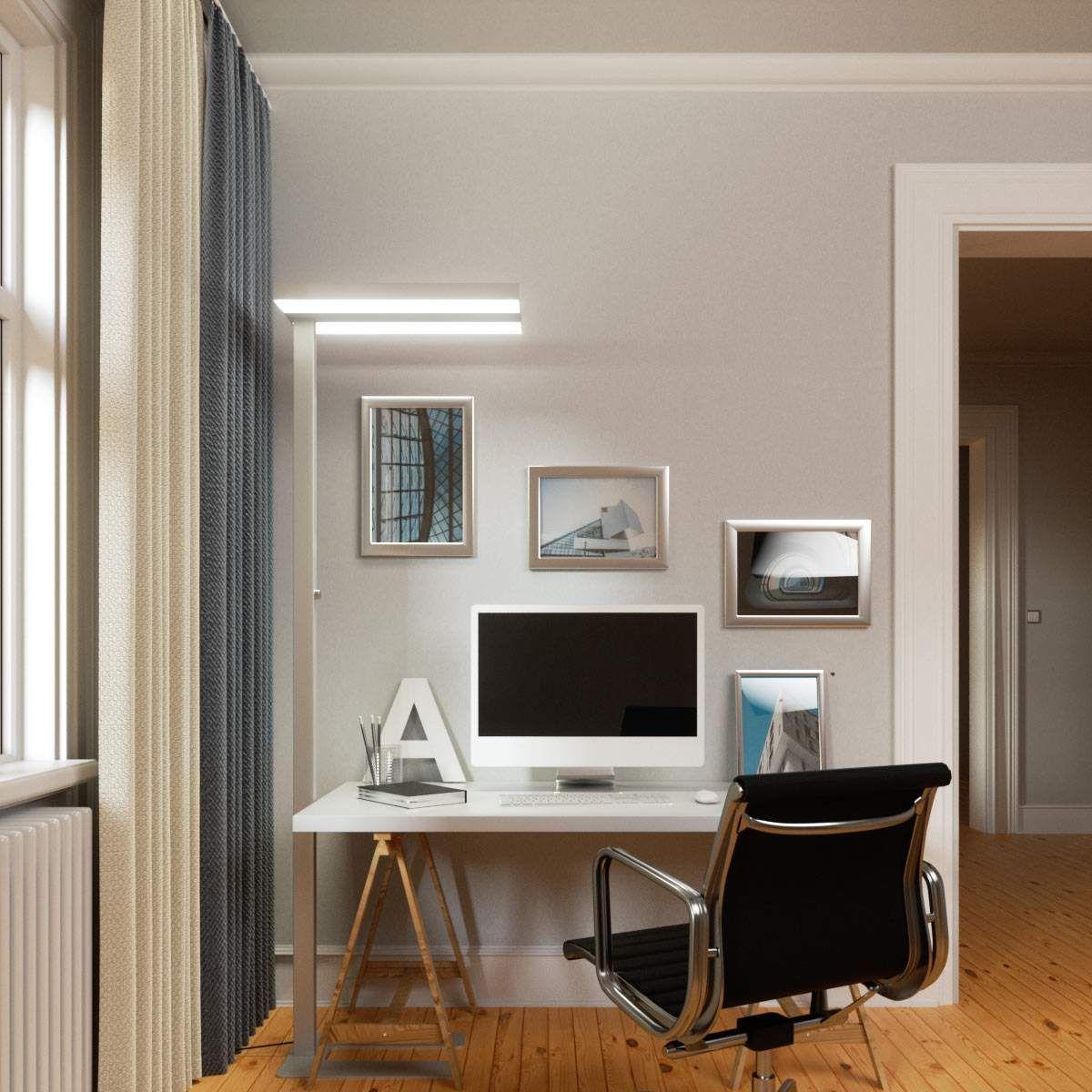 Moderne Stehleuchten Deckenfluter Von Lampenwelt Com Grau Moderne Stehlampen Stehlampe Und Led