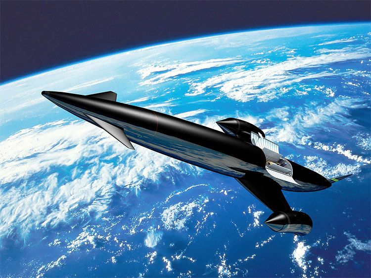 """""""A small British company with a dream of building a re-usable space plane has won an important endorsement from the European Space Agency (ESA) after completing key tests on its novel engine technology.  Reaction Engines Ltd believes its Sabre engine, which would operate like a jet engine in the a"""