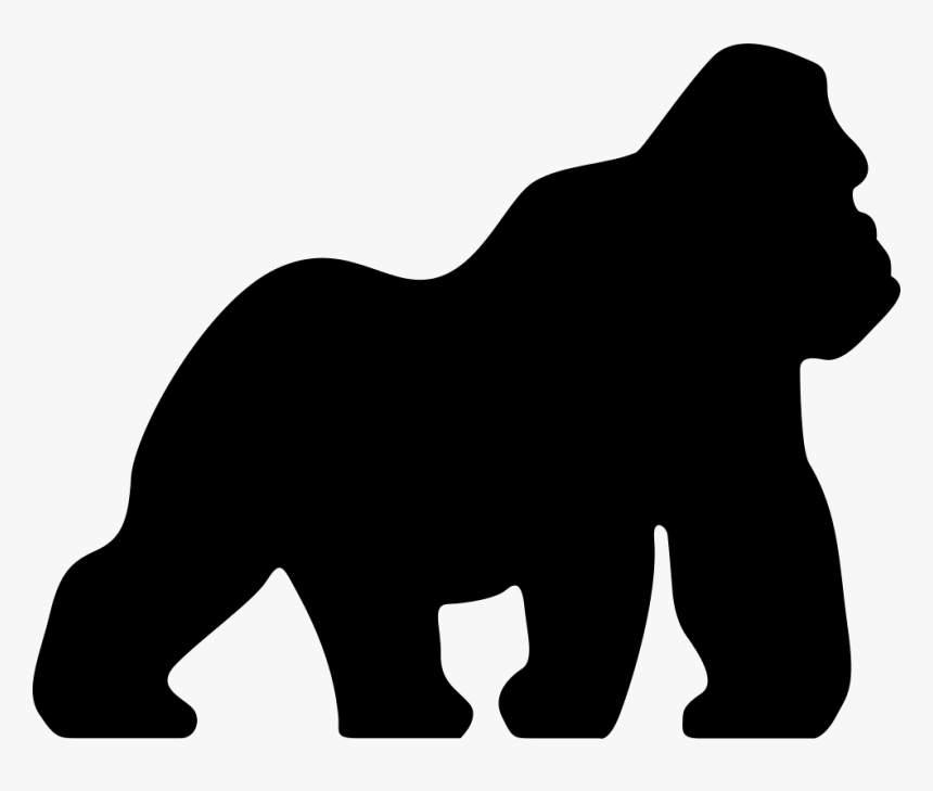 Pin By Yule Agelvis On Papel Silhouette Vector Vector Free Gorilla