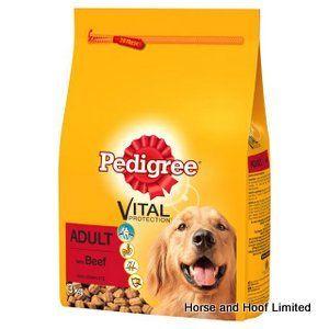 Pedigree Adult Vital With Beef 3kg Dog Food Recipes Dog Food