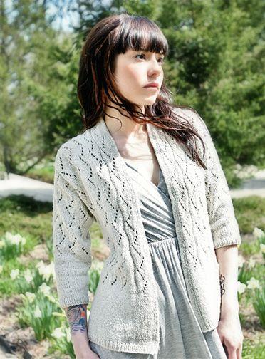 f378b040f75bf9 Simple Lace Knitting Pattern - Lace Cardigan Pattern - Vonica - Downloadable  Knitting Patterns - Chic Knits Knitting Patterns