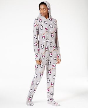 854efff0c9d Jenni by Jennifer Moore Hooded and Footed Pajamas