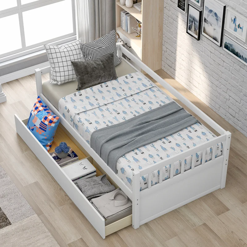 Pin On Stambaugh Lucy Twin size bed with mattress included