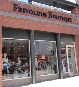 Saratoga's own Frivolous Boutique