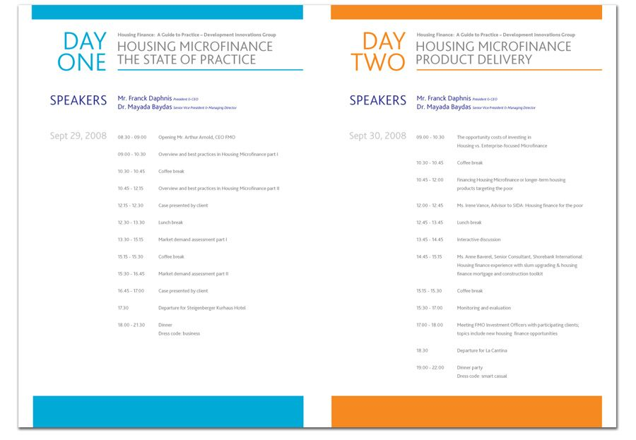 graphic design conference brochure - Google Search Schedules