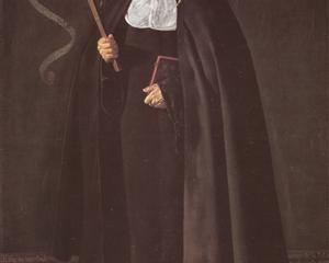 Madre Maria Jeronima de la Fuente - Diego Velazquez