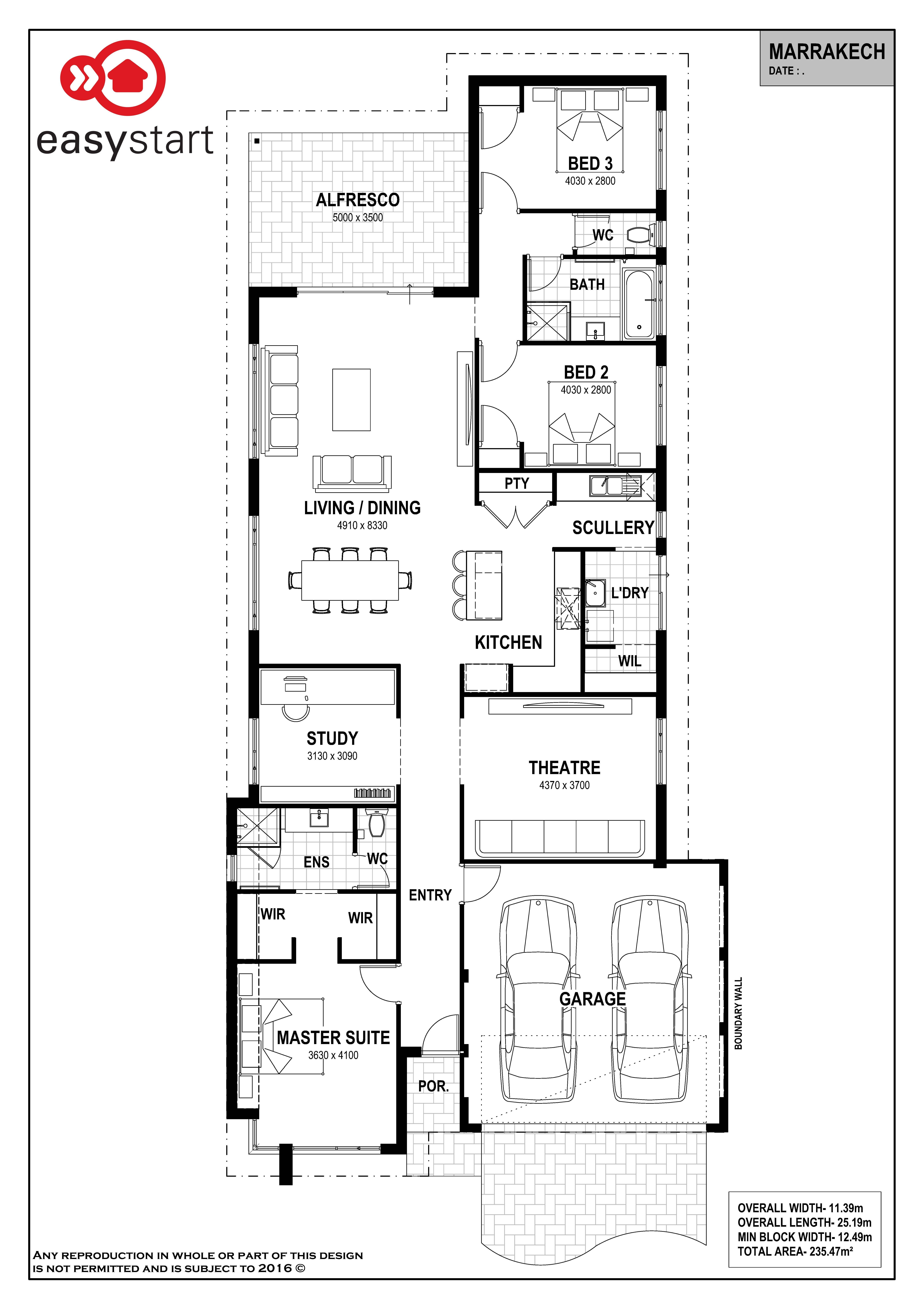Awesome Free Modern House Plan House Plans 3d House Plans House