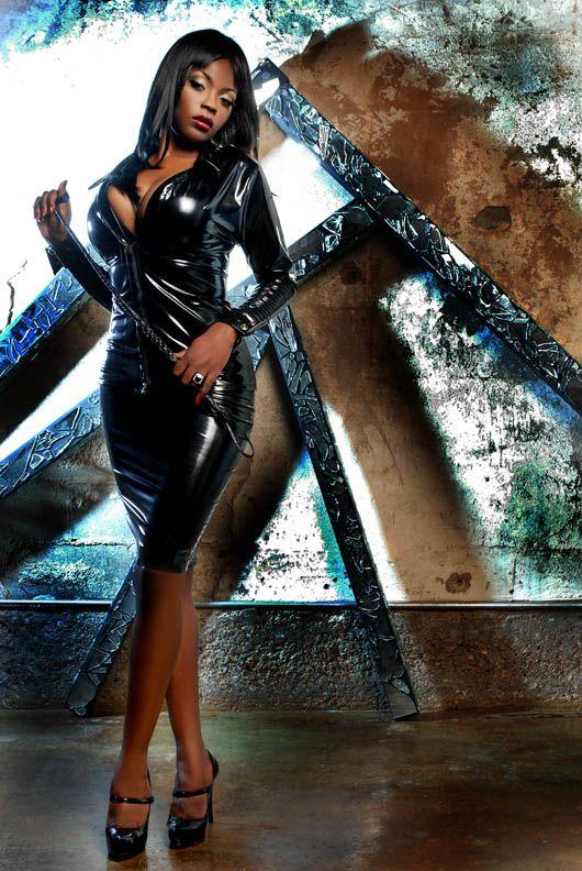 Will black women in latex