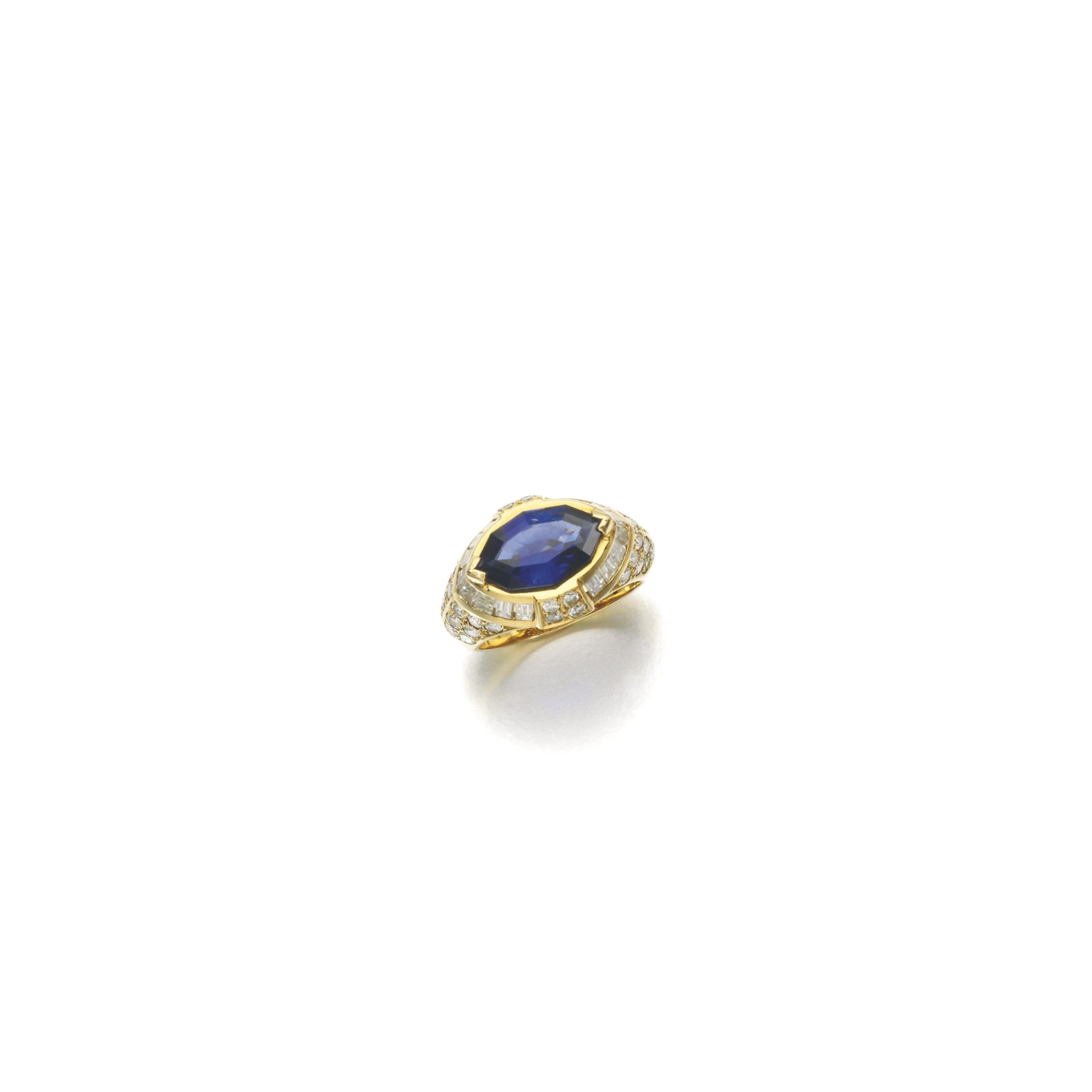 rings baguette stones coloured sapphire keanes diamond